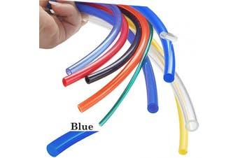 (14mmx10mm-16.4ft, Blue) - Beduan 14mm x 10mm Blue Pneumatic Tubing Pipe PU Polyurethane Air Compressor Tubing Hose Pipe Line Fluid Transfer 16.4ft 5 Metre
