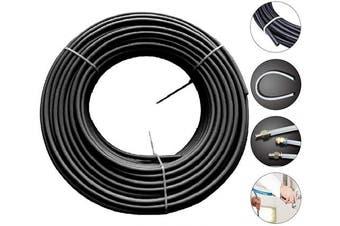 "(1/4""OD, Black) - Beduan Pneumatic Nylon Tube SAEJ844 Air Line Nylon Hose Tubing for Air Brake System or Fluid Transfer (0.6cm OD, Black)"