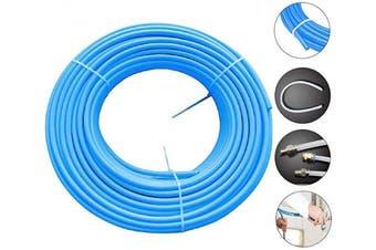 """(1/2""""OD, Blue) - Beduan Pneumatic Nylon Tube 1.3cm od SAEJ844 Air Line Nylon Hose Tubing for Air Brake System or Fluid Transfer(16.4ft 5Meter)"""