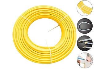 "(5/16""OD, Yellow) - Beduan Pneumatic Nylon Tube 0.8cm od SAEJ844 Air Line Nylon Hose Tubing for Air Brake System or Fluid Transfer(32.8ft 10 Metre)"