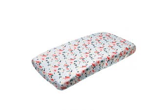 "(Leilani) - Premium Knit Nappy Changing Pad Cover""Leilani"" by Copper Pearl"