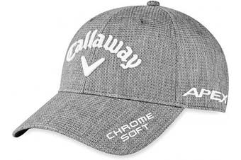 (One Size, Charcoal Heathered) - Callaway Men's Golf Tour Authentic Performance Pro Cap 2020 Hat
