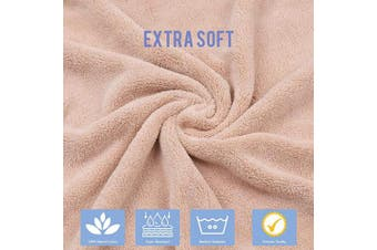 """(Khaki) - ABirdon Hooded Baby Towel, Large 115x70 cm Baby Bath Towels, Soft and Absorbent Washcloth, Machine Washable Towel with Cute Dog Design for Newborn, Infant, Kids, Toddler, Boys, and Girls (45"""" x 27.5"""")"""