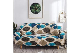 (Loveseat, Pattern #32) - nordmiex Printed Stretch Sofa Slipcover - 1 Piece Elastic Polyester Spandex Couch Covers- Universal Fitted Sofa Slipcover Furniture Protector (Loveseat Sofa,Classic),Pattern #32