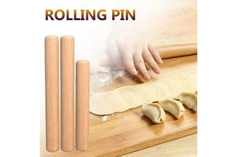 3 PCS Rolling Pin for Pizza(6.30/25cm ) Wood Rolling Pin Dough Roller Non-stick Easy Handle Eco-friendly Kitchen Baking Rolling Pin for Baking Wooden Pizza Dough Roller