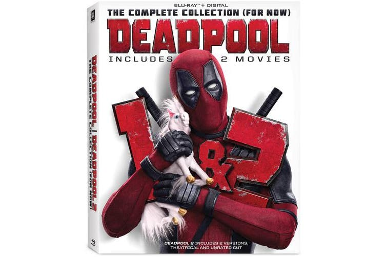 Dick Smith Deadpool The Complete Collection For Now Blu Ray Dvd Movies Dvds Blu Ray Discs