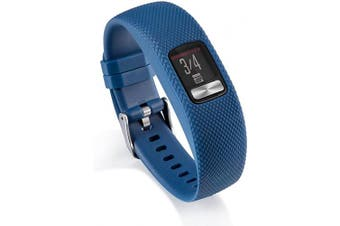 (Large, Blue) - AWINNER Bands Compatible for Garmin vivofit 4,Replacement Sport Colourful Band for vivofit 4 Activity Tracker -Free Lifetime Replacement Warranty (Blue, Large)