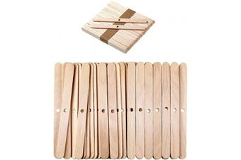 (150) - 11cm Wooden Candle Wick Holders Candle Wick Bars Candle Wick Centering Device for Candle Making and DIY Crafts (150)