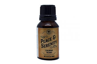 Peace And Serenity Pre-Diluted Essential Oil Blend 15ml (0.5 fl oz) | Calming, Anxiety, Improved Sleep, Grief, Stress, Emotional Support