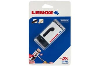 (1.9cm , Clam Shell) - LENOX Tools Bi-Metal Speed Slot Hole Saw with T3 Technology, 1.9cm