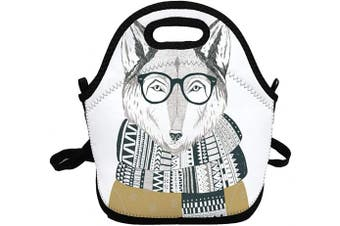 (Sven Fox) - Portable Insulated Lunch Bags for Women Men Kids Girls, Sven Fox Soft Neoprene Lunch Tote Bag, Lightweight Reusable Lunch Box for Work/Office/School/Outdoor/Travel/Picnic and Mom bag