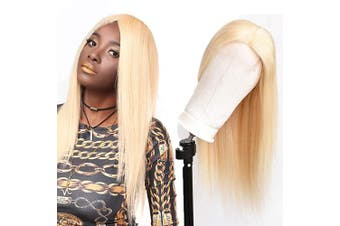 (60cm , 613 blonde 4x4 Wig) - Beauhair 613 Blonde Straight Human Hair Wigs For Women With Baby Hair Lace Front Wigs Brazilian Virgin Human Hair Glueless Lace Wig(4×4 Lace Wig 60cm )
