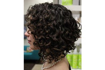 (25cm , Short Curly lace Front wigs) - Connie Lace Front Wigs Brazilian Human Hair Glueless Pre Plucked Short Curly Lace Front Wigs For Black women 25cm 150% Density