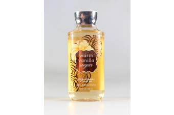 (300mls) - Bath and Body Works Warm Vanilla Sugar Signature Collection Shower Gel, 300ml, new packaging