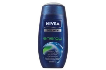Nivea Body Care Shower Gel For Men Energy 86289 250ml