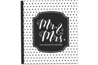 Brownlow Gifts 64288 Gifts Recipe Binder Set, 20cm x 23cm , Mr. & Mrs