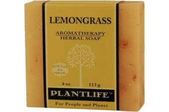 Lemongrass 100% Pure & Natural Aromatherapy Herbal Soap- 120ml (113g)