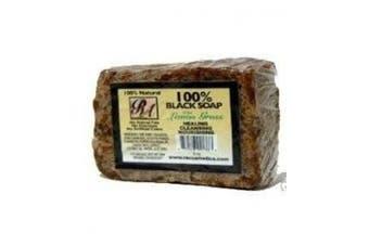 (Lemon-Grass) - RA Cosmetics 100% Black Soap With Lemon Grass 150ml
