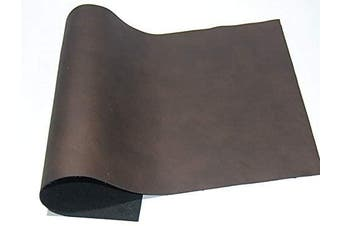 (12 x 18, brown) - ABE Leather HIDES Cow Skins Various Colours & Sizes (Brown, 12 x 18)