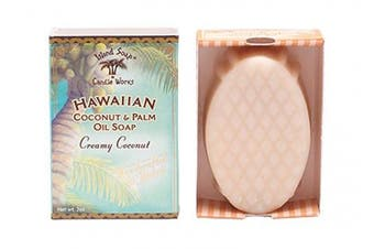(Coconut) - Island Soap & Candle Works Handmade Coconut Soap, Coconut