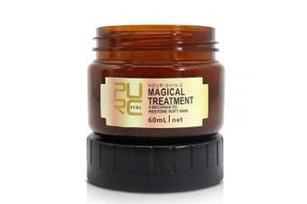 Magical Hair Treatment Mask, Advanced Molecular Hair Roots Treatment Professional Deep Hair Conditioner, Restore Soft Hair, Moisturising and Repairing Dry & Damaged & Coloured Hair