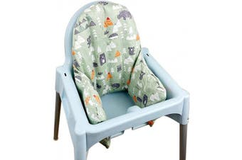 (Green) - ZARPMA Inflatable Cushion Inner Cover IKEA Antilop Highchair (Cover Only)