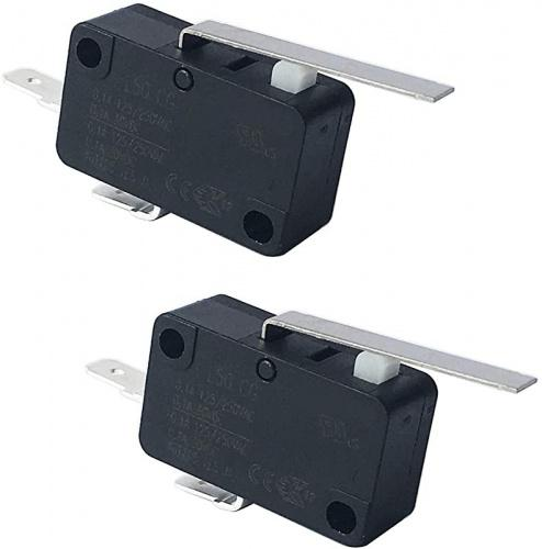 (2) - LONYE WR23X10783 Refrigerator Dispenser Switch Replacement for GE Hotpoint Refrigerator PS8259956 WR23X10171 WR23x10224(2 Pcs) Item Package Quantity: 2