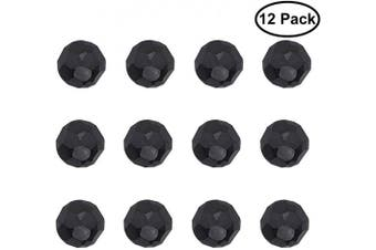 (Clavos) - Magnetic Garage Door Clavos | 12 Pack Decorative Faux Bolts Hardware Kit | Black Accessories Set for a Rustic Barn & Carriage Theme | Fake Decor Nail Accents That Give Beautiful Designs & Instal Easy