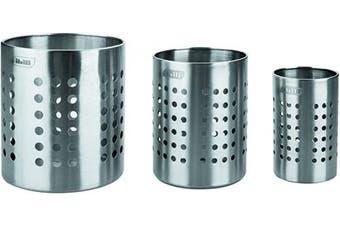 (11.5 cm) - IBILI Kitchen Tools Holder Premier 115cm, Stainless-Steel, Silver, 11.5 cm