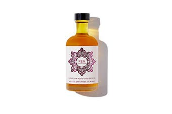 REN Clean Skincare Moroccan Rose Otto Bath Oil, 110ml