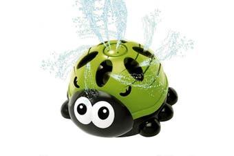 Biubee Water Spray Toy- Summer Spinning Water Sprayer Toy Cartoon Design Swirl Splash Water Sprinkler for Kids Toddlers Outdoor Garden Toy