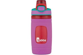 (New, 470ml, Mized Berry with Watermelon) - Bubba Brands 2105881 Flo Kids Water Bottle, 470ml, Mixed Berry with Watermelon