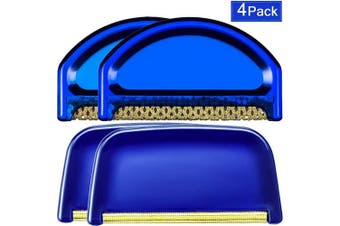 (4) - Sweater Combs Sweater Fabric Shaver and Cashmere Comb Wool Comb Cleaning Tools Removes Pills, Fuzz and Lint from Clothes(4 Pieces)