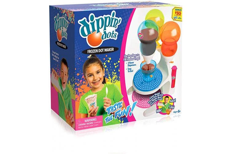 Big Time Toys Dippin Dots Frozen Ice Cream Maker, Model:92197