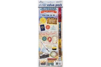 Cardstock Sticker 2/Pkg