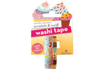 Paper House Scratch & Sniff Washi Tape
