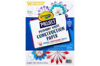 Crayola Project Premium Construction Paper 23cm x 30cm