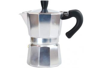 AILELAN Stovetop Espresso Maker, 3 Cup Classic Italian Style Moka Pot, Makes Delicious Coffee, Easy to Operate & Quick Cleanup Pot