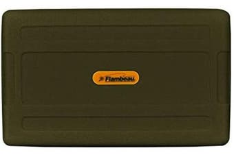 (4.5x 3Inch x 3.2cm ) - Flambeau Tackle Foam Fly Box