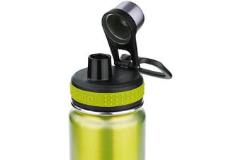 (New Green) - CILLE Water Bottle 710ml Hot Water Bottle Stainless Steel BPA Free Insulated Water Bottle for Cycling Vacuum Cold Water Bottle with Double Wall Wide Mouth Thermos Metal Water Bottles