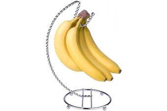 (Chrome 2) - Banana Hanger, Banana Holder, Banana Stand, Grape Hanger Chrome (Chrome 2)