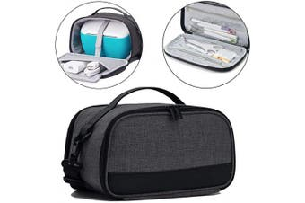 (Black) - BGD-DG Carrying Case with Double Layer Compatible with Cricut Joy Machine, Cricut Joy Starter Tool Set, Fine Point Pen and Other Supplies, Compact and Portable, Black (Bag Only)