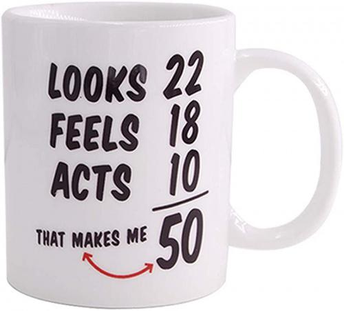 50th Coffee Mugs 1968 50th Birthday Mugs For Women And Men Coffee Mug Funny 50 Year Old Anniversary Tea Mug Ideas For Mothers Day Fathers Day Him Her Husband Or Wife