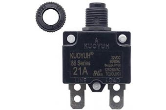 (24A) - KUOYUH Circuit Breaker 88 series 125/250VAC 50/60Hz (1pc) (24A)
