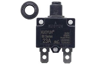 (23A) - KUOYUH Circuit Breaker 88 series 125/250VAC 50/60Hz (1pc) (23A)