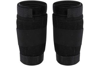 Qiilu Ankle Weights Adjustable Leg Band,Loading Weighted Ankle Leg Band,Adjustable Weighted Ankle Band (Black)