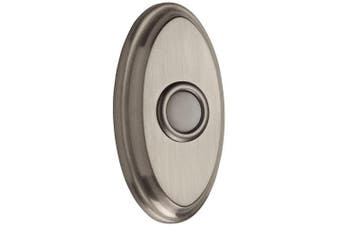 (Satin Nickel) - Baldwin 9BR7016-002 Oval Bell Button