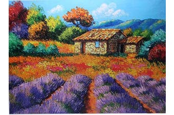 Peaceful Meadow 1000 Large Piece Jigsaw Puzzle for Kids Adults - 70 x 50cm Size