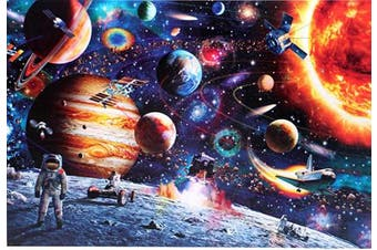 Space Traveller 1000 Large Piece Jigsaw Puzzle for Kids Adults - 70 x 50cm Size