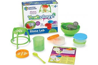 Learning Resources Yuckology Slime Science Set, Early Science Skills, DIY Slime, STEM Skills, Measurement, Colour Mixing, Ages 4+